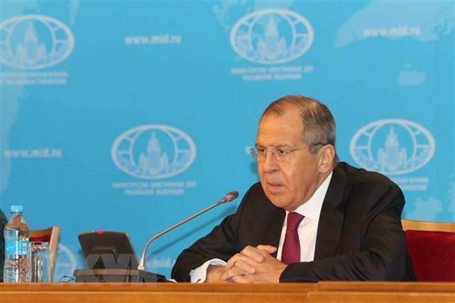 Ngoại trưởng Nga Sergei Lavrov. Ảnh: Hồng Quân/TTXVN