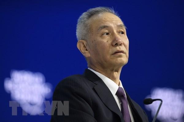 Phó Thủ tướng Trung Quốc Lưu Hạc. Nguồn: TTXVN