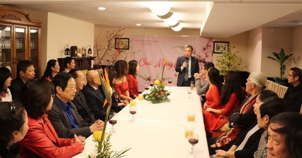 Đại sứ quán Việt Nam tại Canada tổ chức đón Xuân Kỷ Hợi