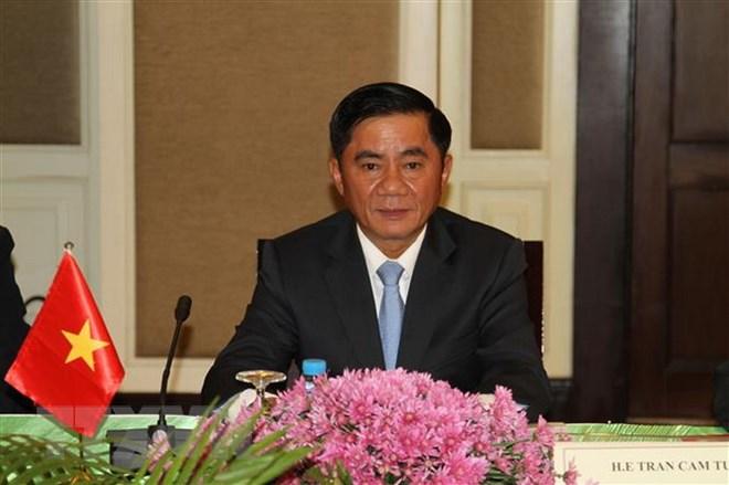 Đoàn cấp cao Ủy ban Kiểm tra Trung ương thăm, làm việc ở Campuchia