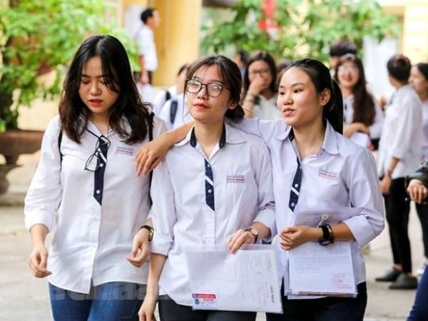 Việc xét công nhận tốt nghiệp trung học phổ thông sẽ có điều chỉnh trong năm 2019. (Ảnh: Minh Sơn/Vietnam+)
