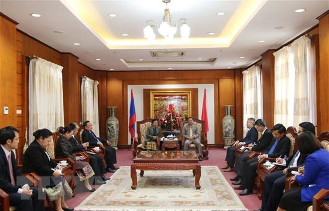 Lãnh đạo Lào chúc mừng 89 năm ngày thành lập Đảng Cộng sản Việt Nam - 1