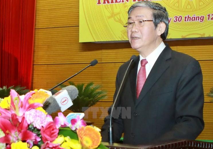 Ban Bi thu Trung uong Dang Cong san Viet Nam khoa XI hinh anh 6
