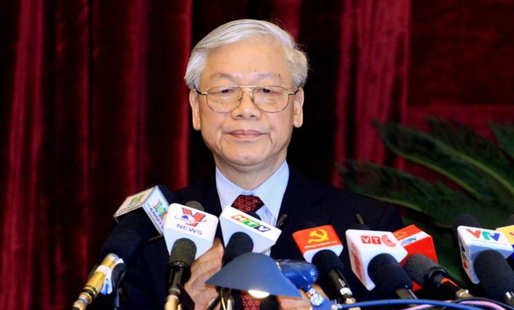 Ban Bi thu Trung uong Dang Cong san Viet Nam khoa XI hinh anh 1