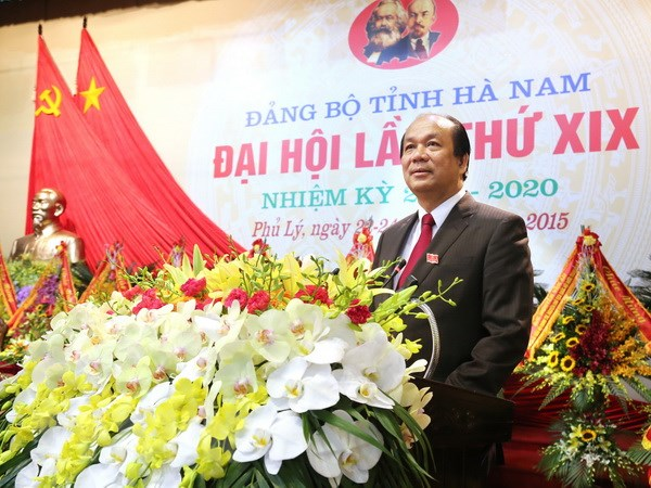 Danh sach 61 Bi thu Tinh uy, Thanh uy nhiem ky 2015-2020 hinh anh 21