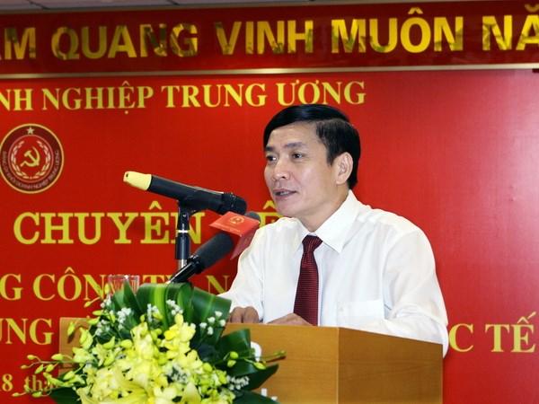 Uy vien Ban Chap hanh Trung uong Dang (chinh thuc) khoa XII - Phan 1 hinh anh 29