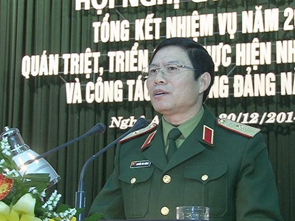 Uy vien Ban Chap hanh Trung uong Dang (chinh thuc) khoa XII - Phan 1 hinh anh 25