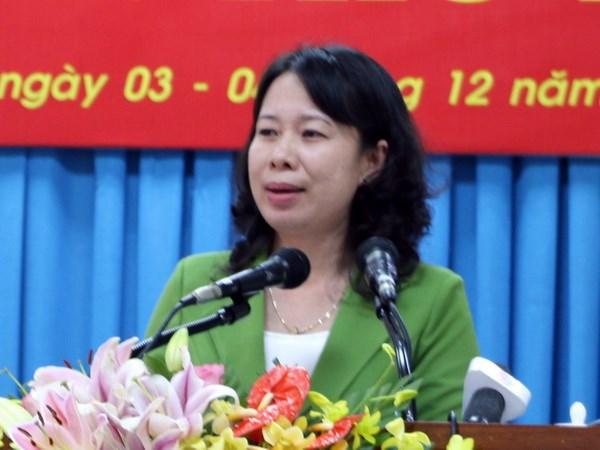 Uy vien Ban Chap hanh Trung uong Dang (chinh thuc) khoa XII - Phan 3 hinh anh 62