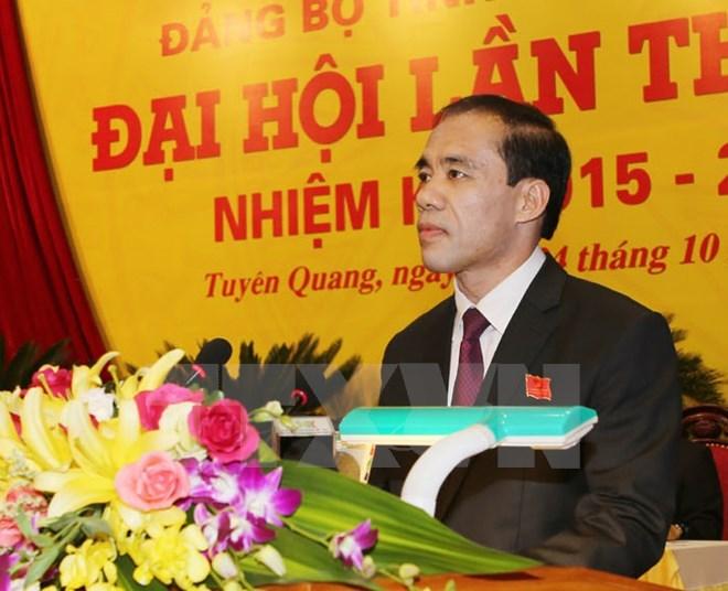 Danh sach 61 Bi thu Tinh uy, Thanh uy nhiem ky 2015-2020 hinh anh 55