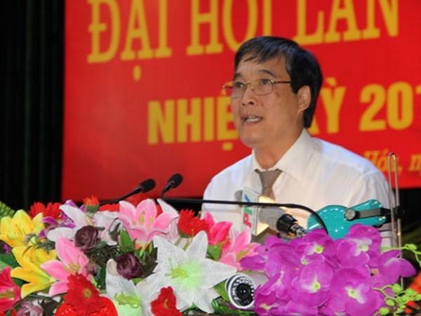 Uy vien Ban Chap hanh Trung uong Dang (chinh thuc) khoa XII - Phan 1 hinh anh 14