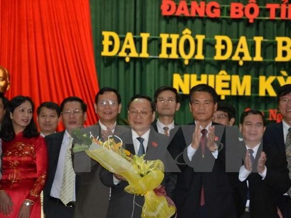 Uy vien Ban Chap hanh Trung uong Dang (chinh thuc) khoa XII - Phan 1 hinh anh 34