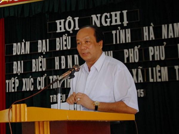 Uy vien Ban Chap hanh Trung uong Dang (chinh thuc) khoa XII - Phan 1 hinh anh 40