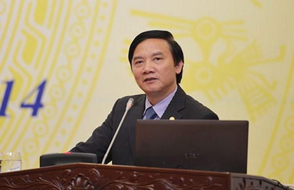 Uy vien Ban Chap hanh Trung uong Dang (chinh thuc) khoa XII - Phan 1 hinh anh 48