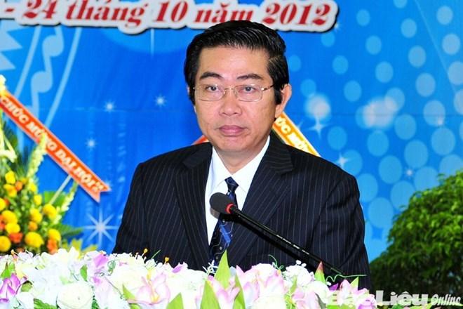 Uy vien Ban Chap hanh Trung uong Dang (chinh thuc) khoa XII - Phan 1 hinh anh 42