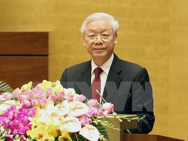 Uy vien Ban Chap hanh Trung uong Dang (chinh thuc) khoa XII - Phan 3 hinh anh 42