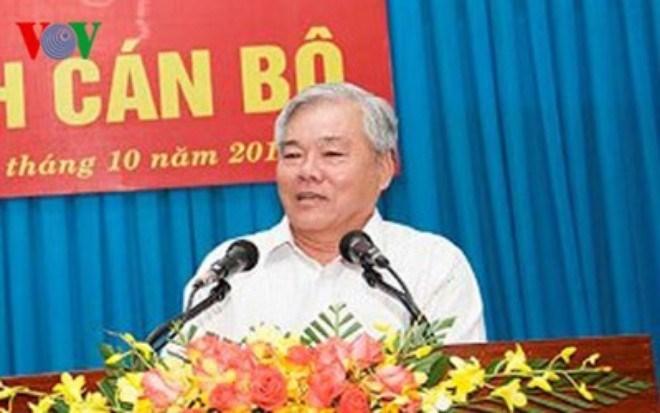 Uy vien Ban Chap hanh Trung uong Dang (chinh thuc) khoa XII - Phan 3 hinh anh 10