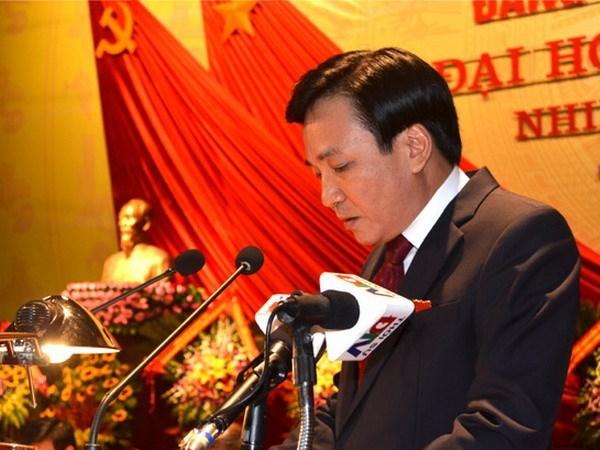 Uy vien Ban Chap hanh Trung uong Dang (chinh thuc) khoa XII - Phan 3 hinh anh 14