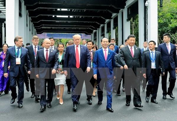 Su kien trong nuoc 6-12/11: Hoi nghi APEC thong qua Tuyen bo Da Nang hinh anh 1
