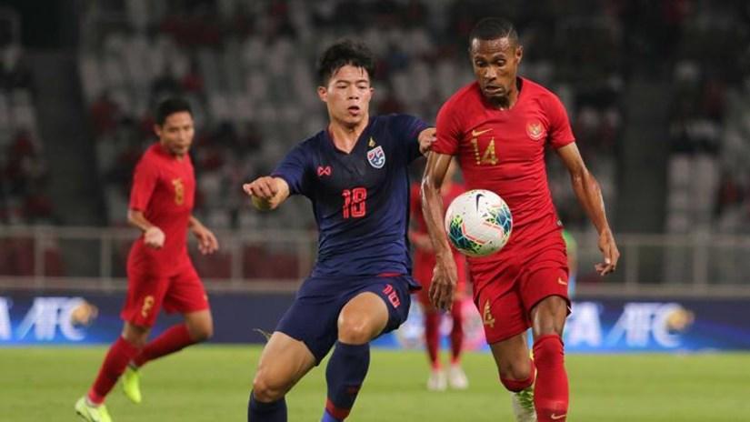 Đội tuyển Indonesia thua thảm trước Thái Lan ngay trên sân nhà