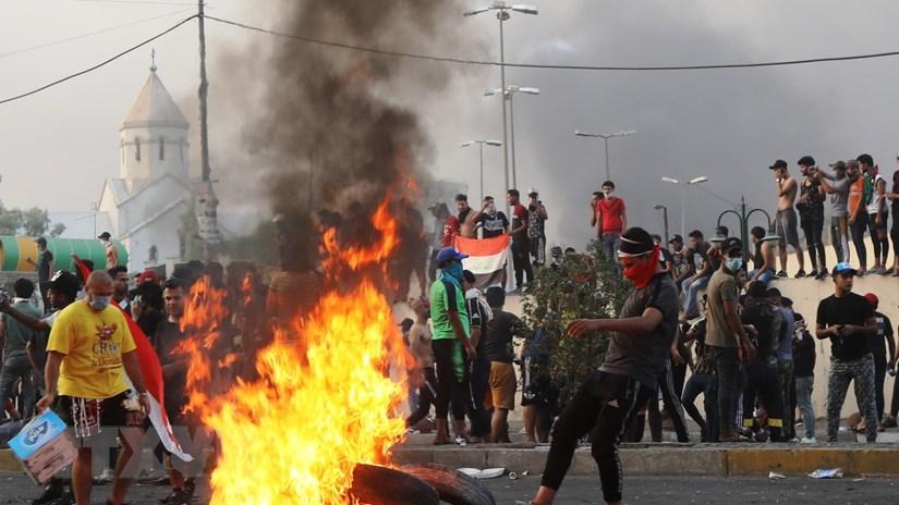 Biểu tình tại Iraq tiếp tục diễn biến phức tạp, 53 người đã tử vong