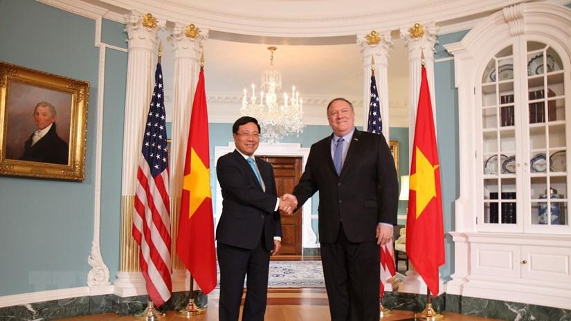 Phó Thủ tướng, Bộ trưởng Ngoại giao thăm chính thức Hoa Kỳ