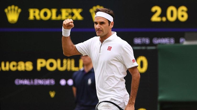 'Tàu tốc hành' Roger Federer thiết lập hàng loạt kỷ lục đáng nhớ