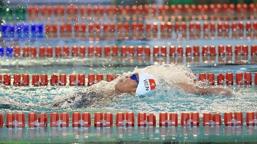 Việt Nam tham dự Giải vô địch bơi lội thế giới tại Hàn Quốc