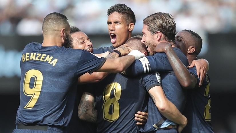 Sau cú sốc của Barcelona, Real giành chiến thắng tưng bừng