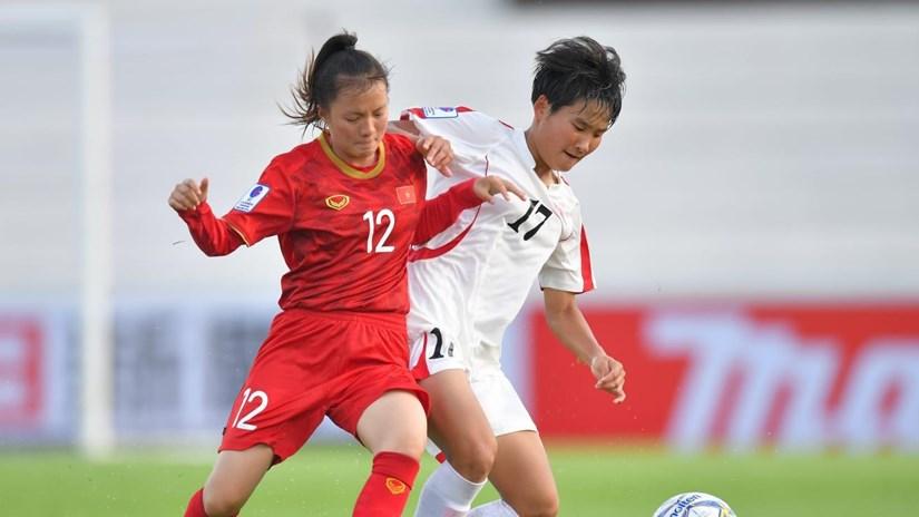U16 nữ Việt Nam thua đậm U16 Triều Tiên ở bảng đấu 'tử thần'