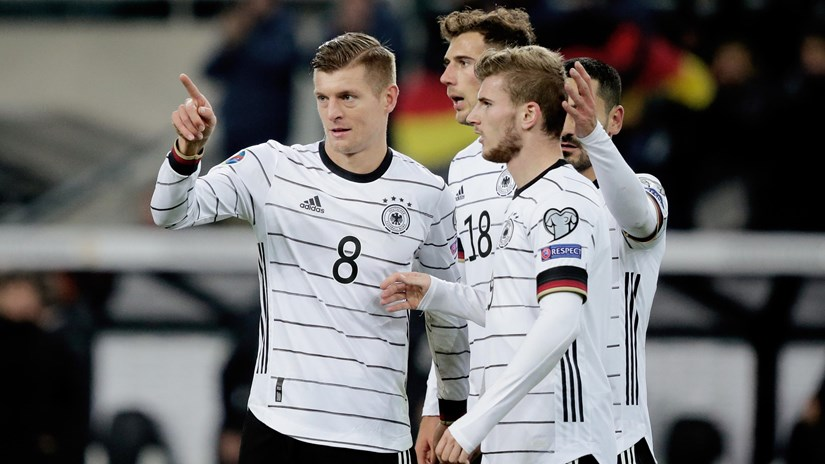 Euro 2020: Đức cùng 3 đội tuyển giành vé tham dự vòng chung kết