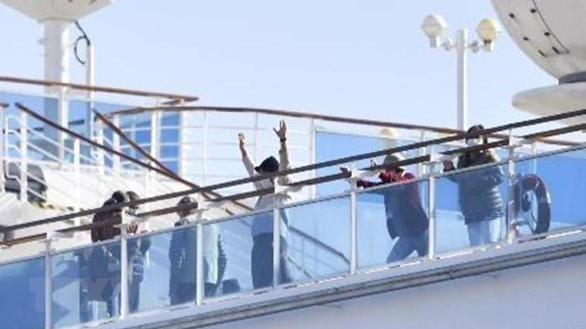 40 công dân Mỹ trên du thuyền Diamond Princess đã nhiễm Covid-19