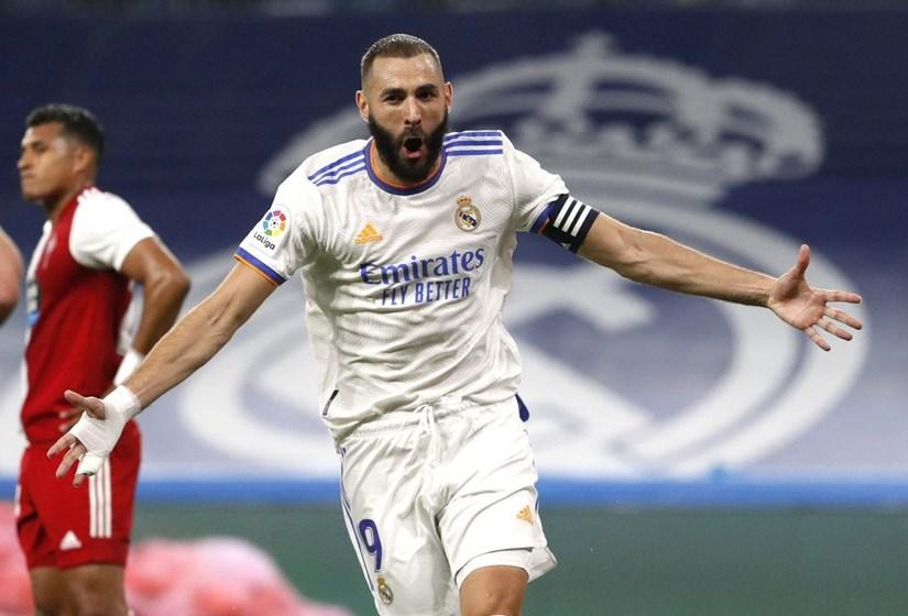 Benzema giúp Real thắng đậm trong ngày trở lại Bernabeu. (Nguồn: Getty Images)
