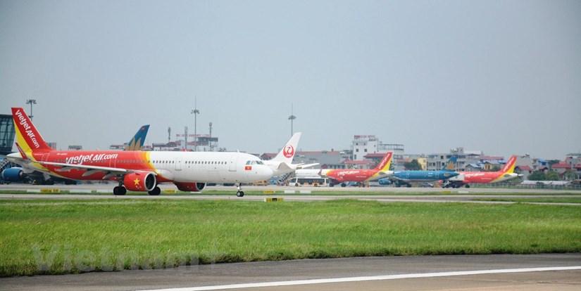 Tần suất đường bay nội địa sẽ được chia theo từng giai đoạn phục hồi tương ứng trong điều kiện đảm bảo công tác phòng, chống dịch COVID-19. (Ảnh: Việt Hùng/Vietnam+)