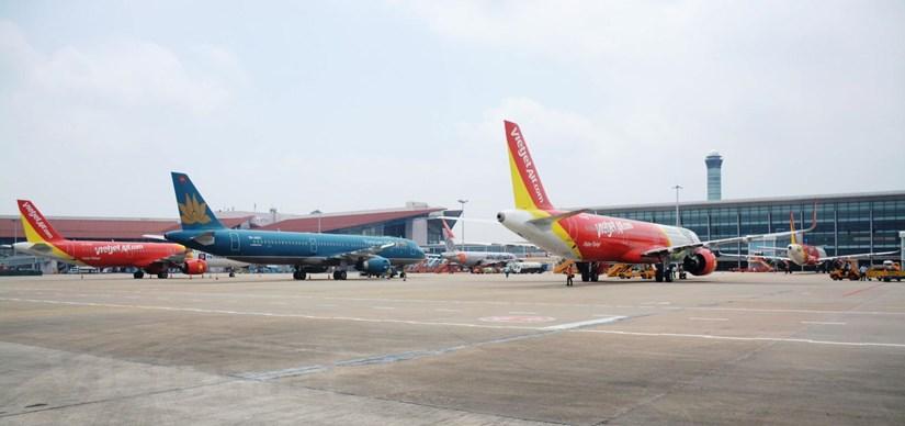Ngành hàng không đang chuẩn bị các kế hoạch để phục hồi lại đường bay nội địa. (Ảnh: Việt Hùng/Vietnam+)