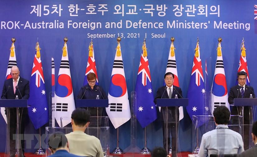 Hàn Quốc và Australia tái khẳng định cam kết về Ấn Độ Dương-TBD
