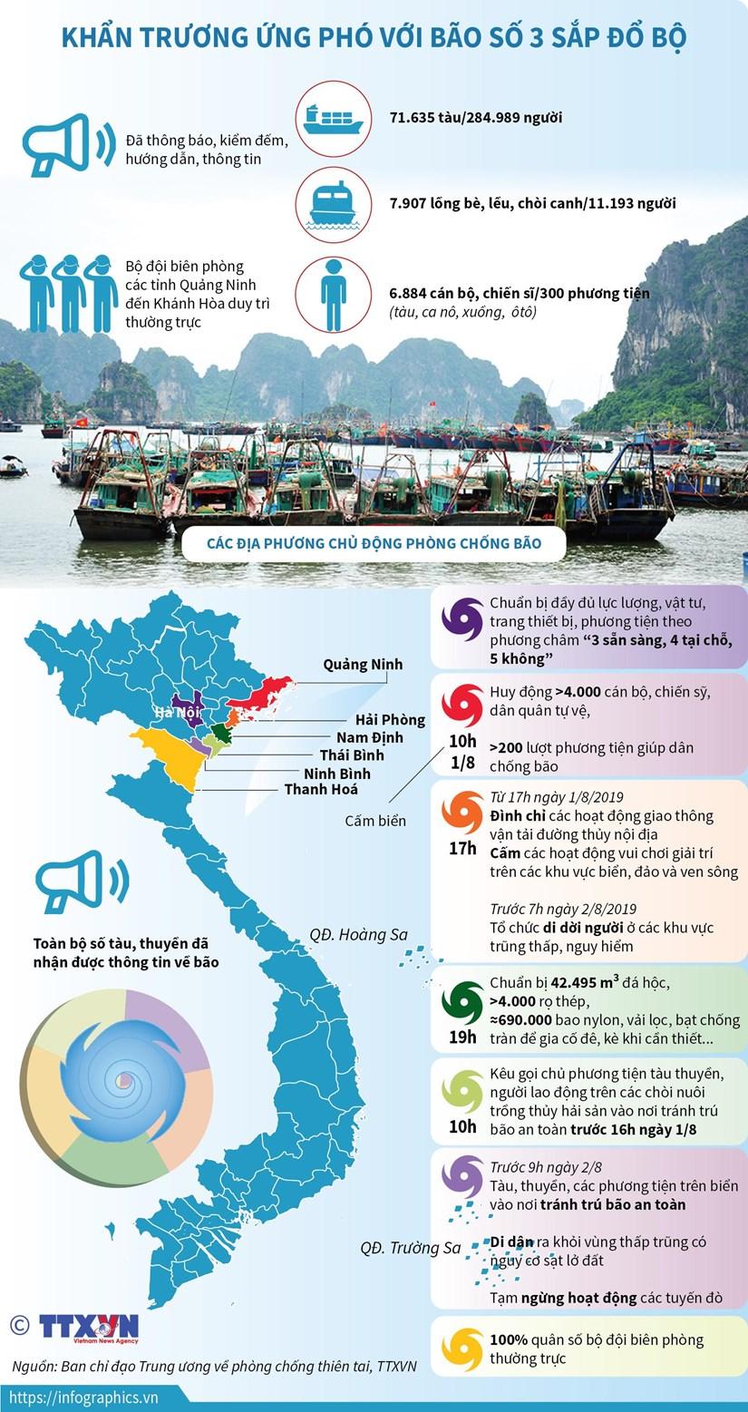 [Infographics] Khan truong ung pho voi bao so 3 sap do bo hinh anh 1