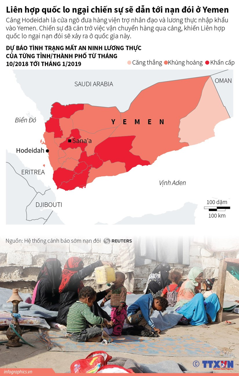 [Infographics] Lien hop quoc lo ngai chien su dan toi nan doi o Yemen hinh anh 1