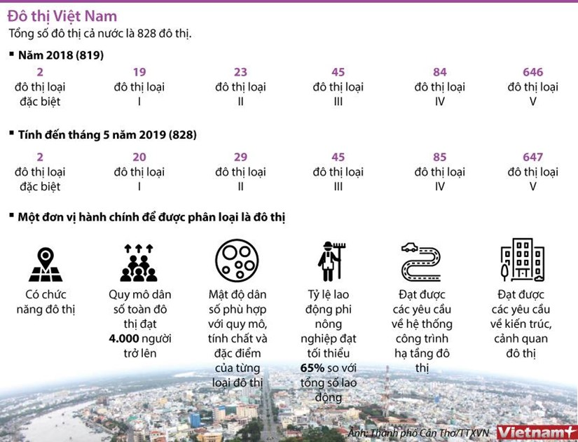 [Infographics] Toc do do thi hoa dang tang nhanh tren ca nuoc hinh anh 1