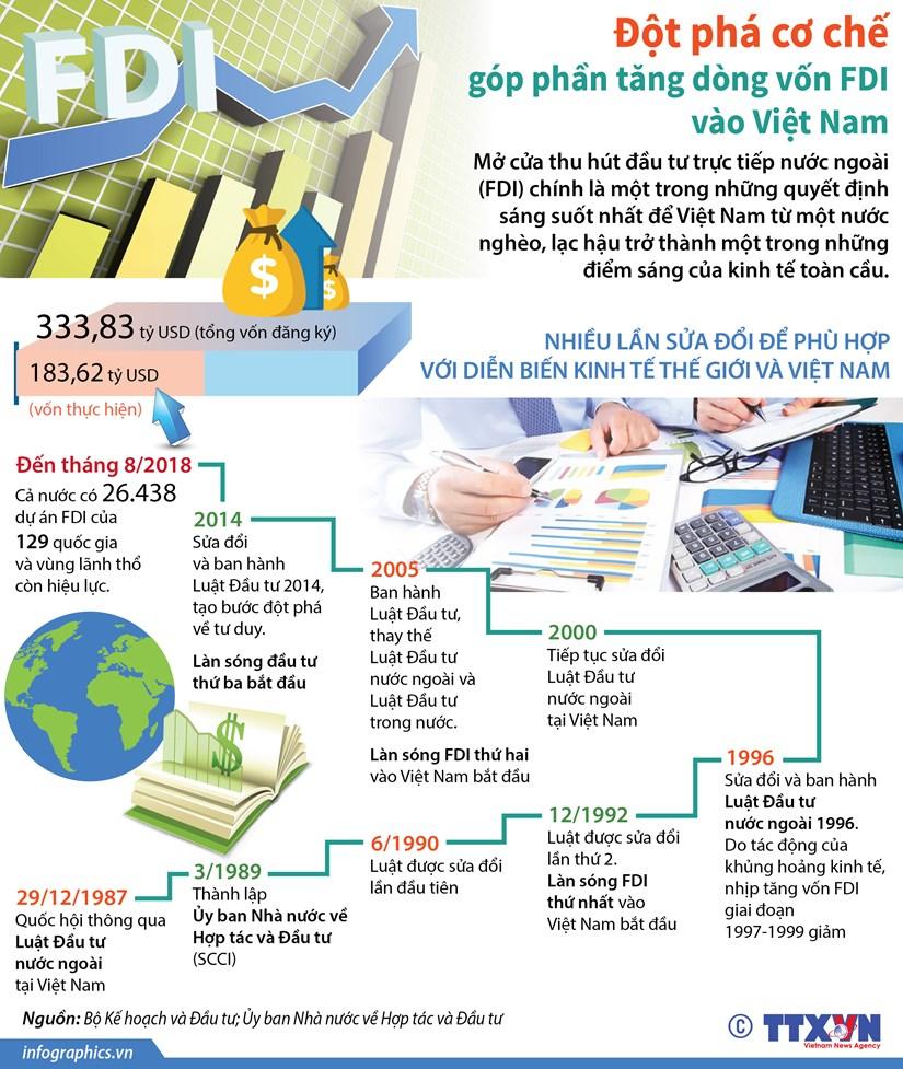 Dot pha co che gop phan tang dong von FDI vao Viet Nam hinh anh 1