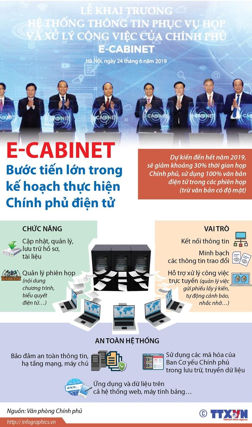 E-Cabinet: Buoc tien lon trong ke hoach thuc hien Chinh phu dien tu hinh anh 1