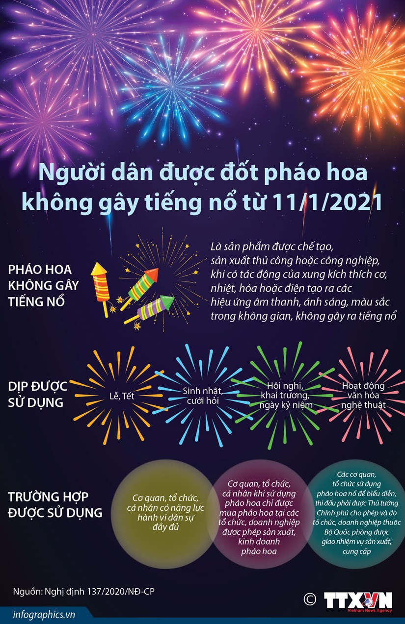 Nguoi dan duoc dot phao hoa khong gay tieng no tu 11/1/2021 hinh anh 1