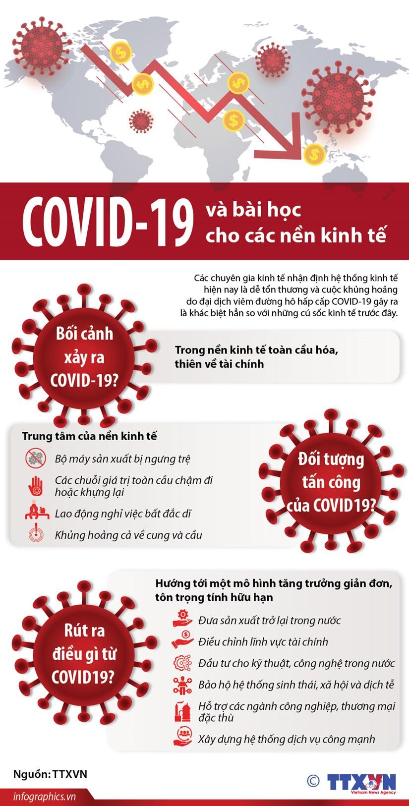 [Infographics] COVID-19 va bai hoc cho cac nen kinh te hinh anh 1