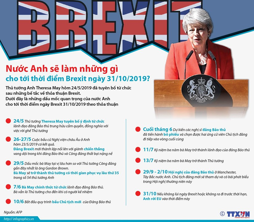 [Infographics] Nuoc Anh se lam gi cho toi thoi diem Brexit ngay 31/10? hinh anh 1