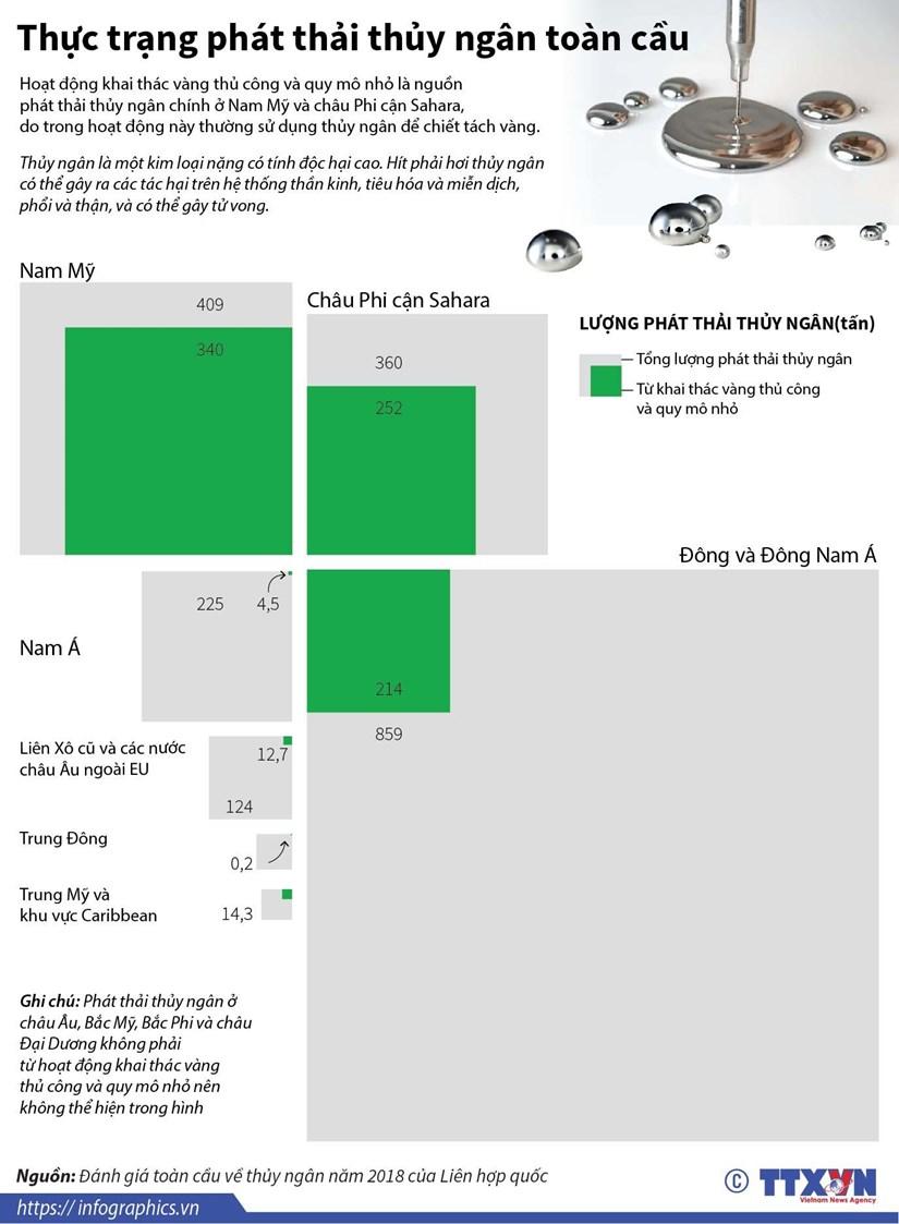 [Infographics] Thuc trang phat thai thuy ngan tren toan cau hinh anh 1