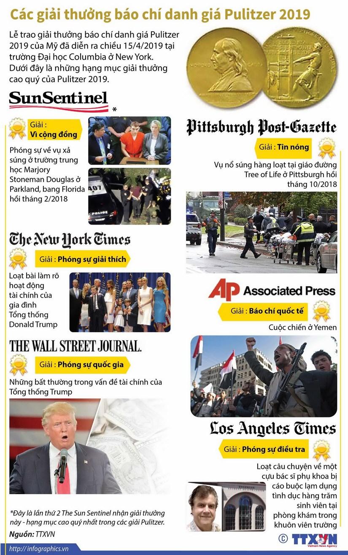 [Infographics] Cac giai thuong bao chi danh gia Pulitzer 2019 hinh anh 1