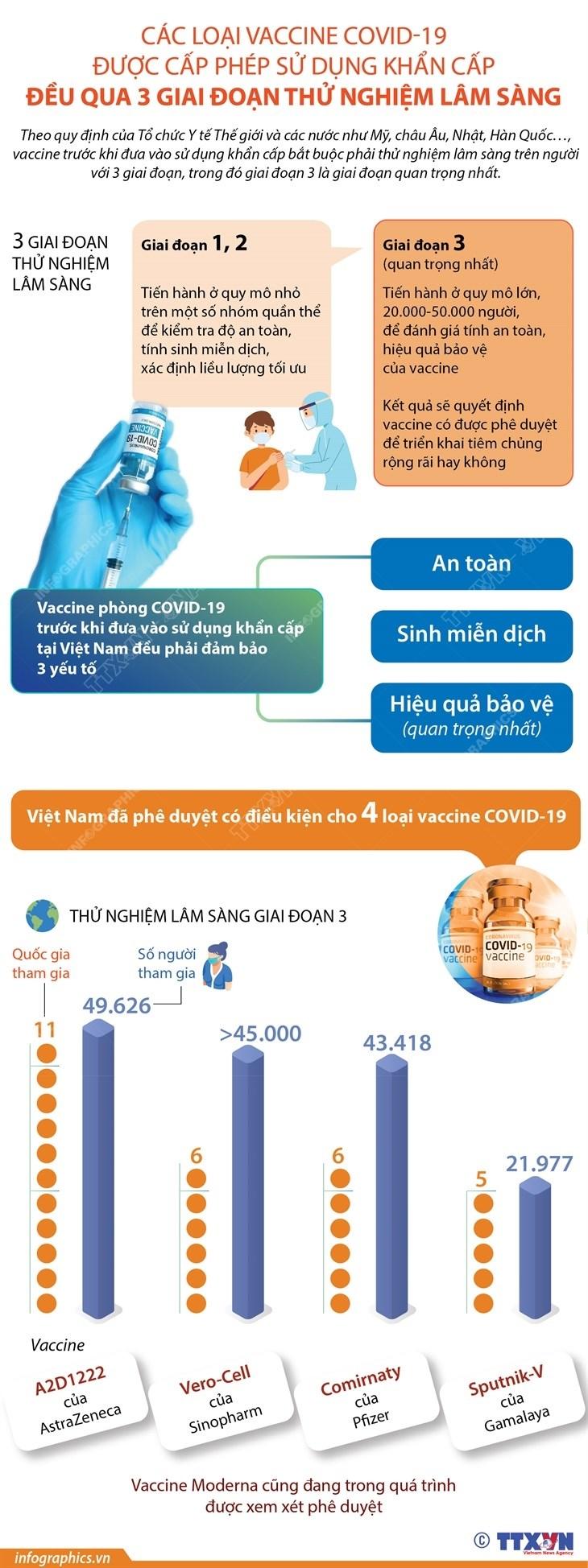 Vaccine duoc cap phep su dung khan cap phai qua thu nghiem 3 giai doan hinh anh 1