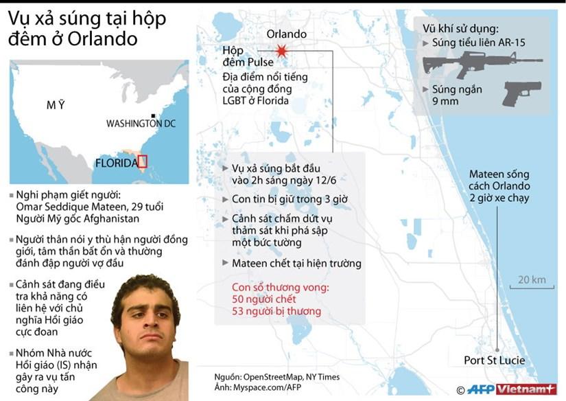 [Infographics] Nhin lai vu xa sung kinh hoang tai hop dem o Orlando hinh anh 1