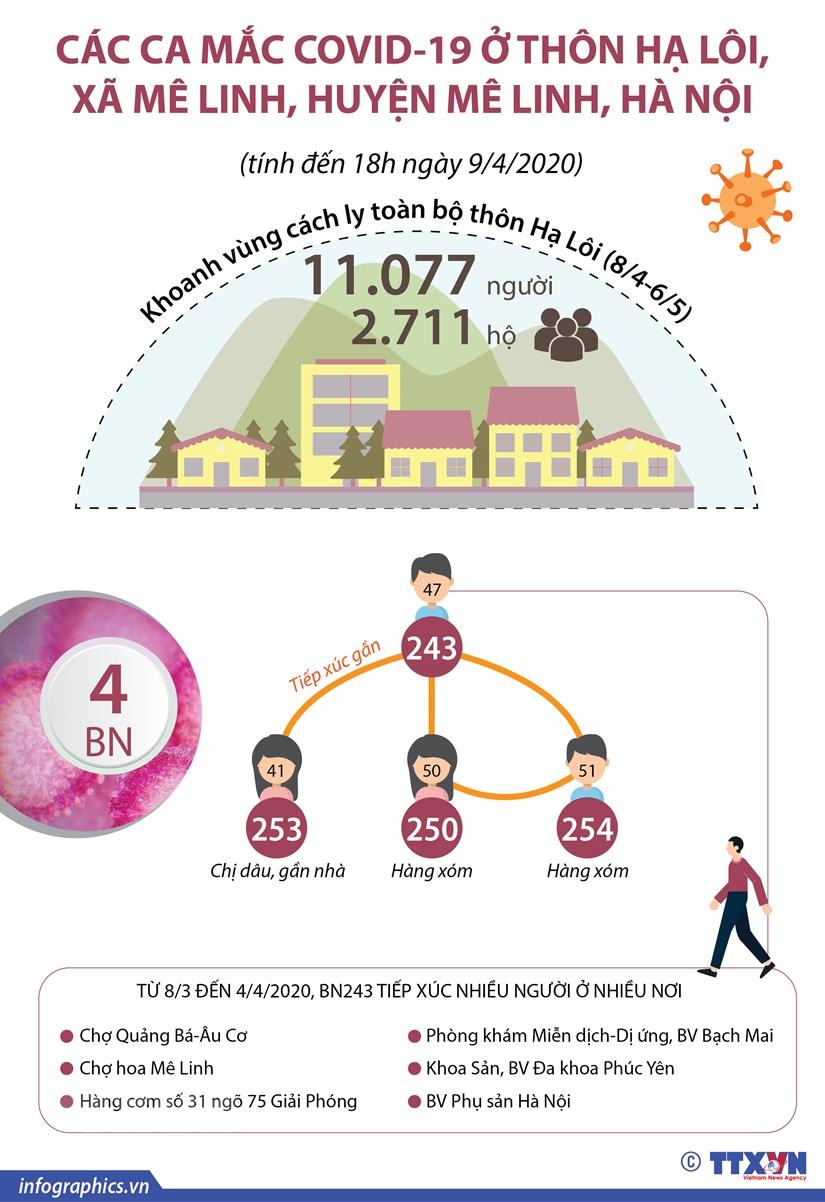 [Infographics] Thong tin chi tiet ve o dich o thon Ha Loi hinh anh 1