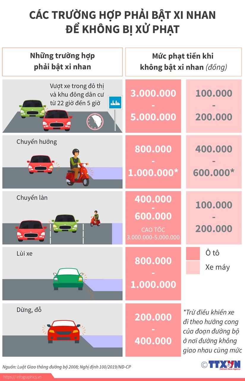 [Infographics] Cac truong hop phai bat xinhan de khong bi xu phat hinh anh 1