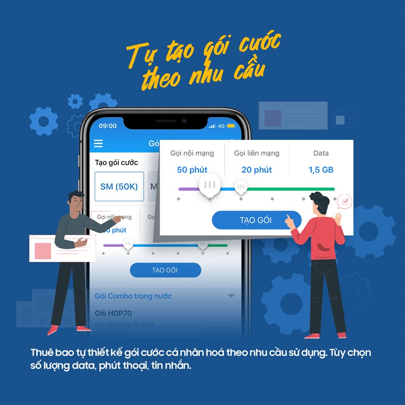 [Infographics] Ngoi nha thao tac moi giao dich cung MobiFone hinh anh 4